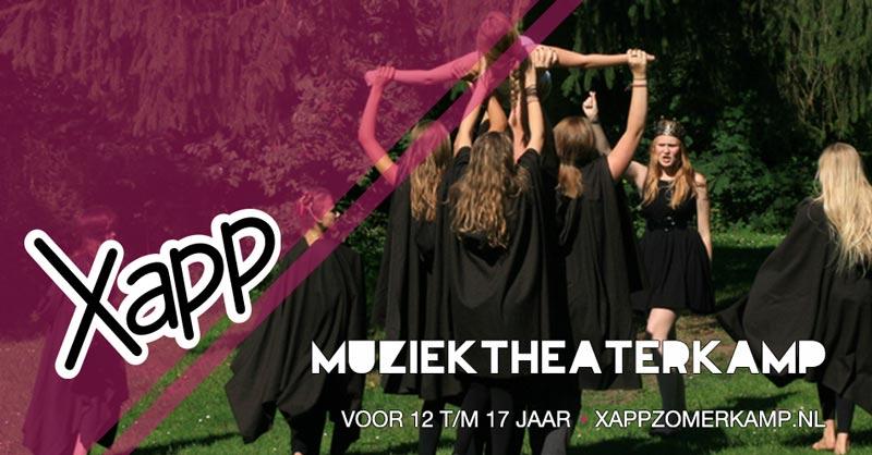 xapp muziektheaterkamp
